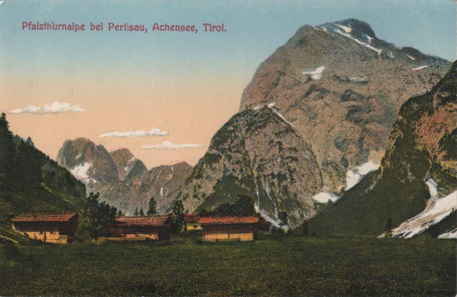 Eben Pertisau Pfalzthurnalpe