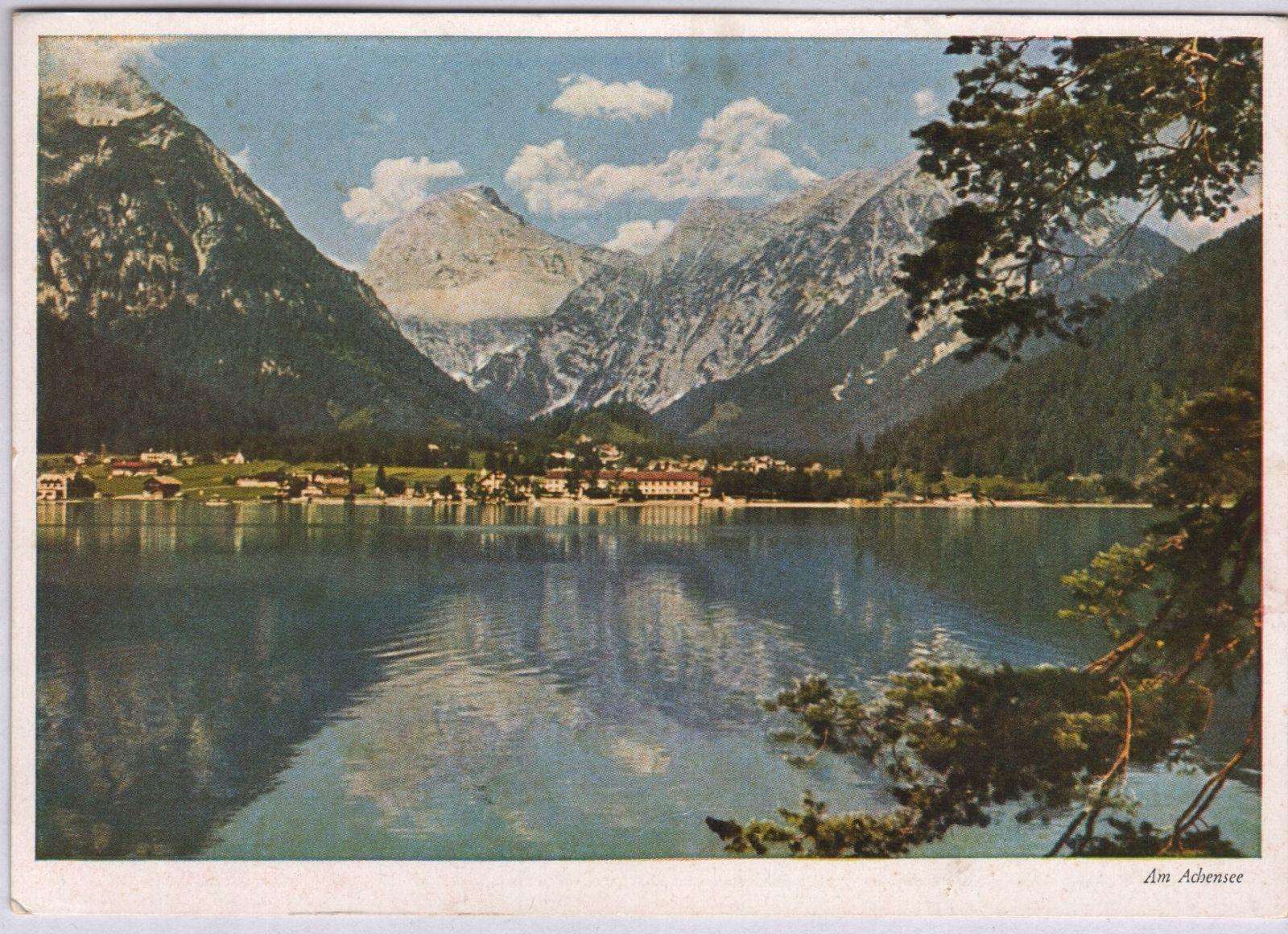 Pertisau Uferblick