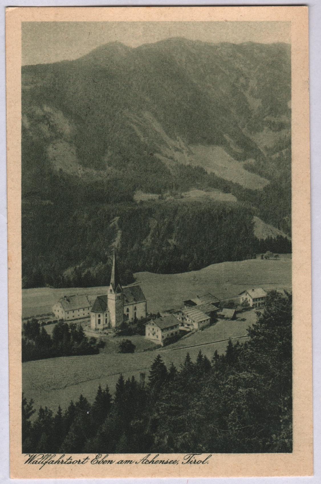 Eben Am Achensee Kirche