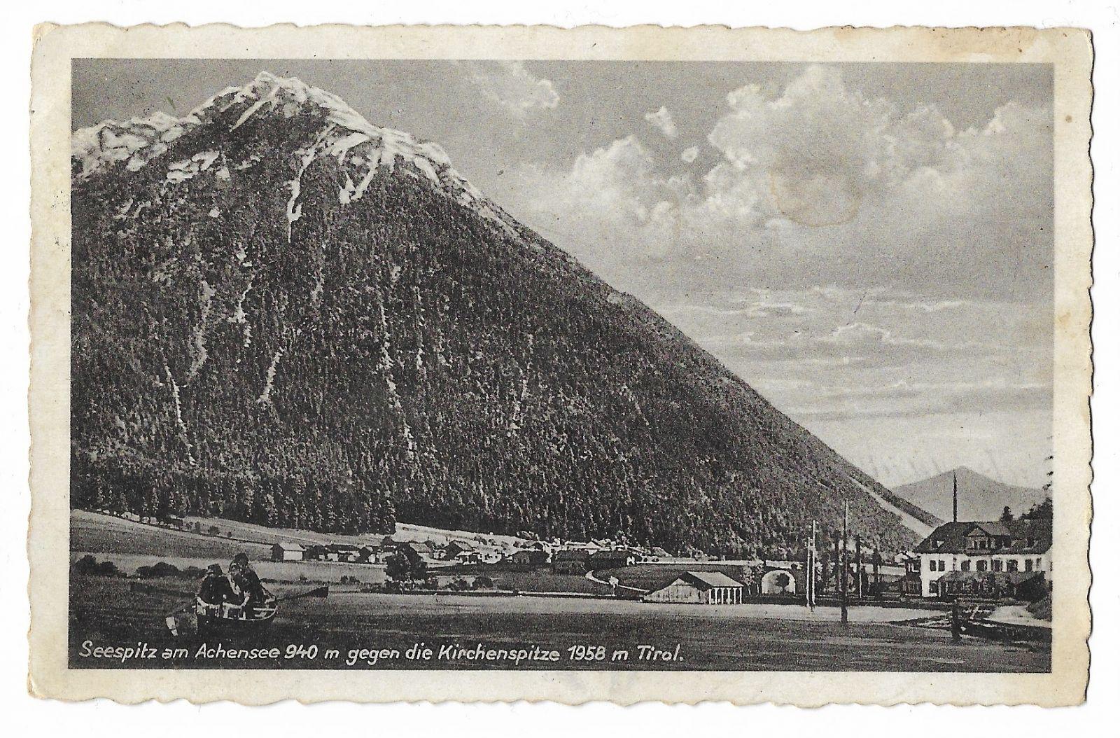 Achensee Seespitz