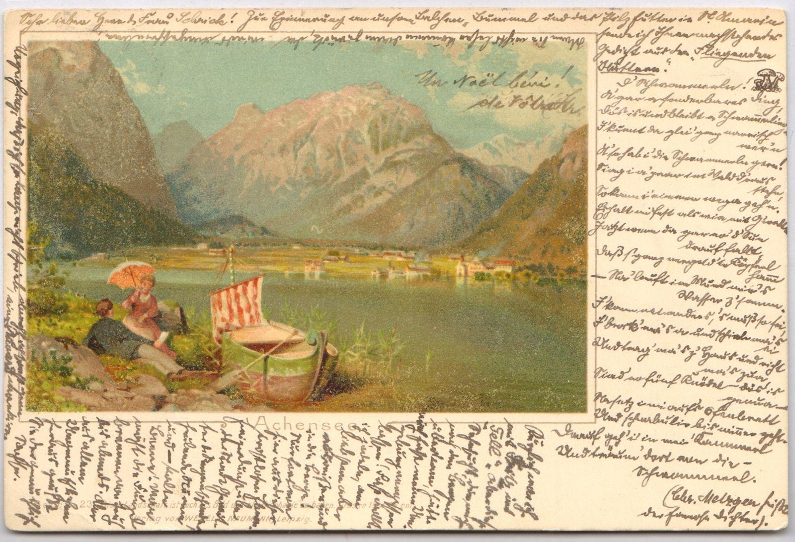 Eben am Achensee - Buchau