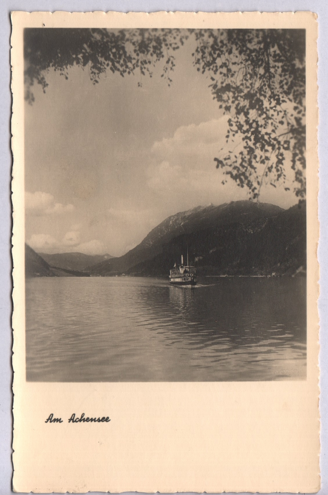 Dampfer Achensee